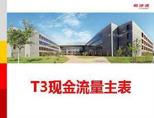 用友T3现金流量主表编制教程_T310.6plus1视频教学课件